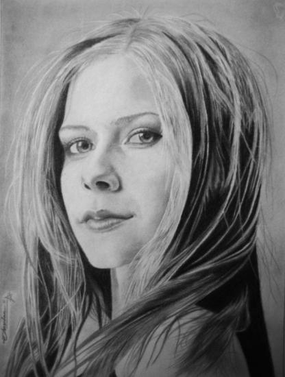 Avril Lavigne por Chandan